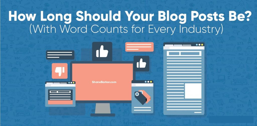 How Many Words Should A Blog Post Be