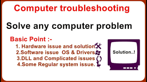 Computer Troubleshooting-basice problem