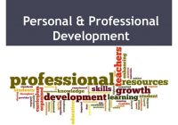 Personal and Professional Growth